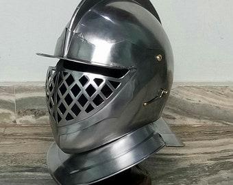 Medieval Knight helmet Unique Funta Helmet Armour Helmet Roman knight helmet Larp sca helmet