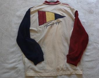 Tommy Hilfiger deadstock XL vintage sailing shirt