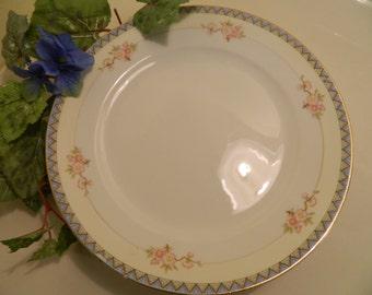 Set of 4 Vintage Noritake The Marne Dinner Plates