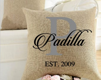 Family Pillow|Insert Included|