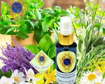 Exotic Blooms, Fresh Herbs, Shower Oil, After Shower, Dry Body Oil, Body Oil, Oil Spray, Dry Oil, Oil
