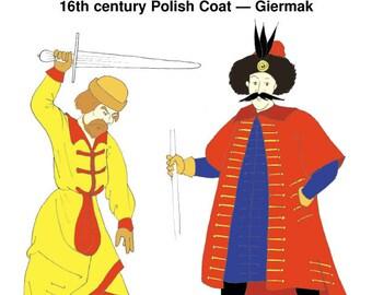 RH404 16th Century Polish Coat Pattern