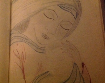 Madonna and Child OOAK