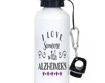 Alzheimers Water Bottle, Alz, Awareness Causes, Dementia, Awareness Month, Family First, Causes, Alzheimers Awareness, Alzheimers Research
