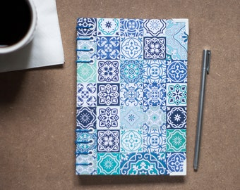 Tile Coptic Hardcover Notebook in A5
