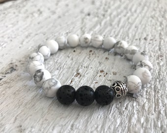 bead bracelet,lava bead bracelet,essential oil bracelet,diffuser bracelet,gift for her,boho jewelry,gift for mom,diffuser jewelry,