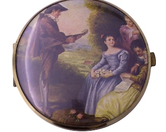 Western Germany Mirror Compact