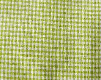 Gingham Green 2 mm