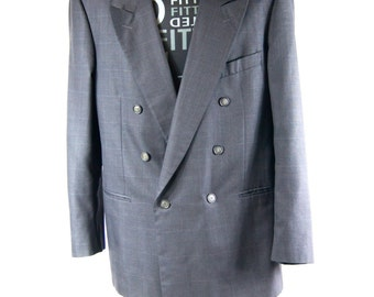 Vintage Marco Ricci Blazer Men's Made in Italy Wool Silk