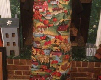 Holidays fall apron
