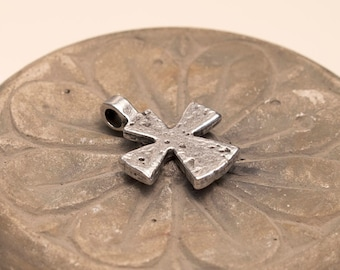 "Small Cross, Antique Ethiopian Coptic Cross, Old cross, 1 inch cross, 1"" cross"