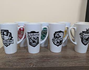 17oz Ceramic Hogwarts Mugs
