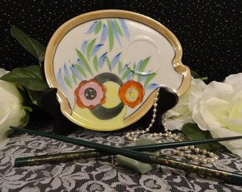 Lusterware Set of Six Tashiro Shoten Japanese Vintage Luncheon Snack Plates