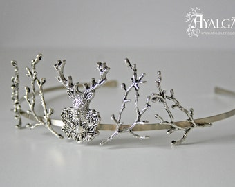 deer tiara - baratheon crown