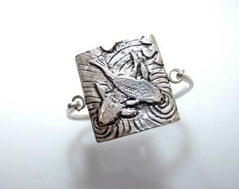 Koi Tension Bracelet in Sterlnig Silver