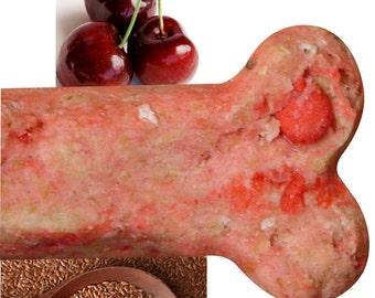 Cherry & Flaxseed Gourmet Dog Treats