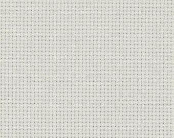 Aida 14 count Pewter Grey , grey  Aida from Zweigart, assorted sizes, aida for cross stitch, 14 count cross stitch fabric, cross stitch aida