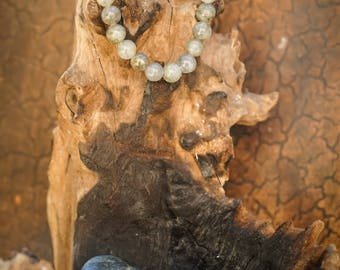 Labradorite Natural Gemstone 8mm Bracelet