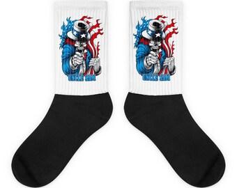 Uncle Sam Socks