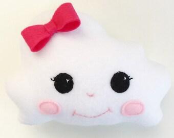 Kawaii Cloud Pillow