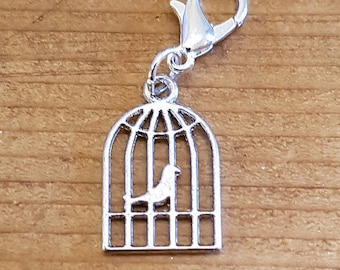 Bird Cage Stitch Marker/Keeper