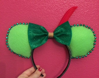 Peter Pan Mouse Ears