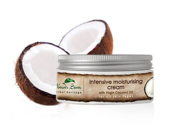 Virgin Coconut Oil - Intensive Moisturising Cream 100ml