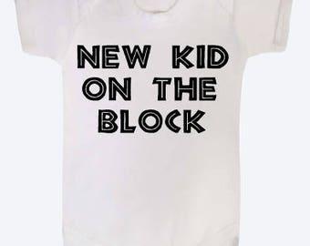 New kid on the block baby vest