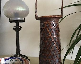 Japanese Handwoven Basket ( Hanakago )