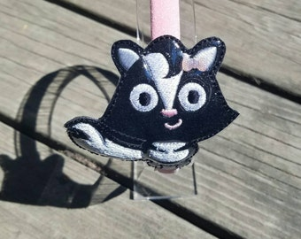 Cute Skunk headband slider with headband