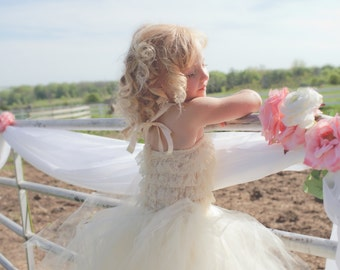 Ivory Tutu by Atutudes Perfect for your flower girl