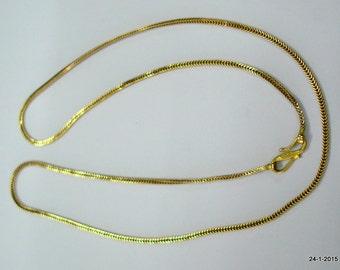 20 kt gold chain vintage gold chain antique gold chain handmade gold chain