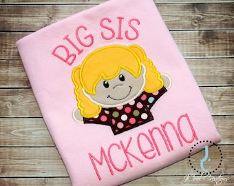 Big Sister Shirt - Big Sister Gift, Big Sister Dress, Big Sister Announcement, Sibling Outfits, Big Sister Little, Pregnancy Announcement