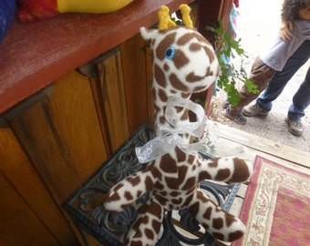 Handmade Stuffed Giraffe