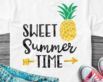 Be A Pineapple Svg Pineapple Svg Cute Svg Cricut Cameo