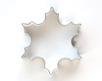 Snowflake Cookie Cutter - Winter, Christmas Cookie Cutter, Gingerbread Cookie Cutter