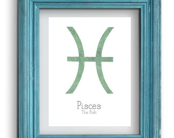 Pisces Astrology Print {Digital}