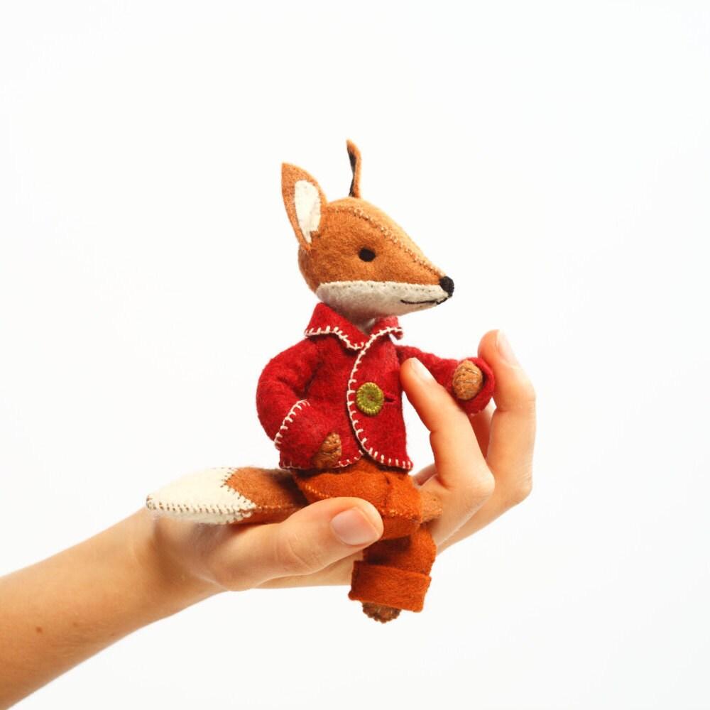 Felix Fuchs Set Filz-Fuchs-Ornament Filz Tier Handwerk Kit