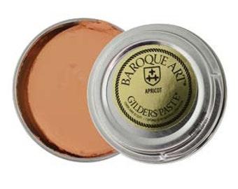 Gilders Paste, Apricot,  Baroque Art, Coloring Metal, Metal Wax,  Wholesale