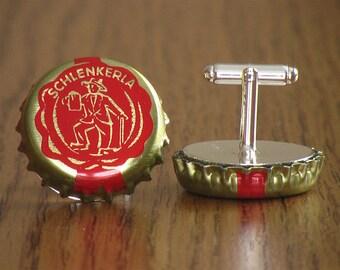NEW 3 kinds of Aecht Schlenkerla Beer Cap Cufflinks - CHOOSE