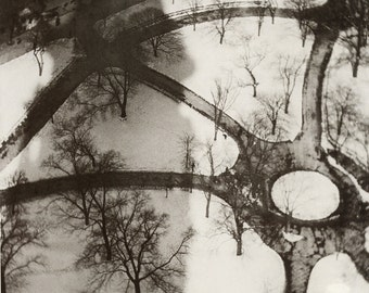 """Aerial View of """"The Octopus"""" Madison Square Park, New York City, 1912  - Vintage Photo Print, Ready to Frame!"""