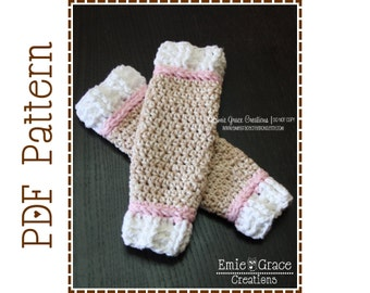 Crochet Sock Monkey Leg Warmers Pattern - Classic - 7 Sizes (Newborn to Adult) - SOCK MONKEY - pdf 704