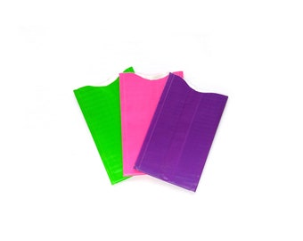 Set of 3 RFID blocking credit card protector, identity theft protection, choose your colour