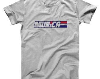 Murica Joe American America Fourth July 4Th Basic Men's T-Shirt DT1882