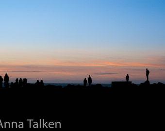 Morro Bay Sunset Photograph