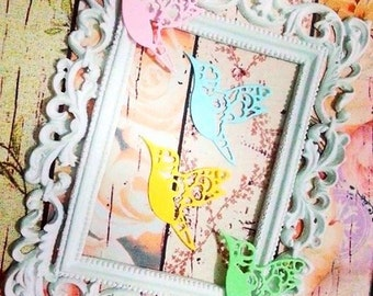 Hummingbird, a pack of 10 pcs. Perfect for any of your project : card making, scrapbooking, cupcake toppers, decoration, banner & many more.