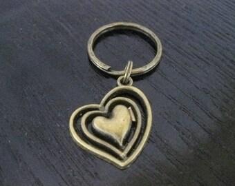 Heart of Hearts Key Ring