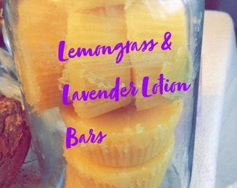 Lemongrass & Lavender Lotion Bars