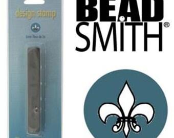 BeadSmith 6mm Fleur De Lis Metal Stamp (LPSD93)