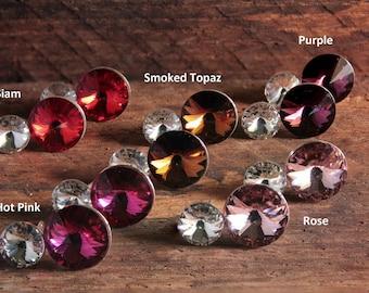 Swarovski Earrings, Stud Earrings, Crystal Earrings, Swarovski Stud Earrings, Swarovski Crystal Earrings, Earrings, Silver Earrings